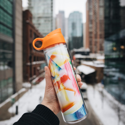 Custom Water Bottle Claire Ashley